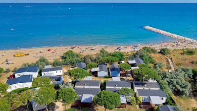 Jesolo Mare Camping Village, Campinganlage am Strand, Italien